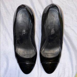 Chanel heels authentic